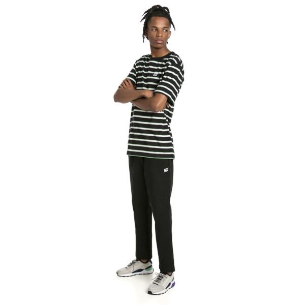 Downtown Men's Twill Pants, Cotton Black, large