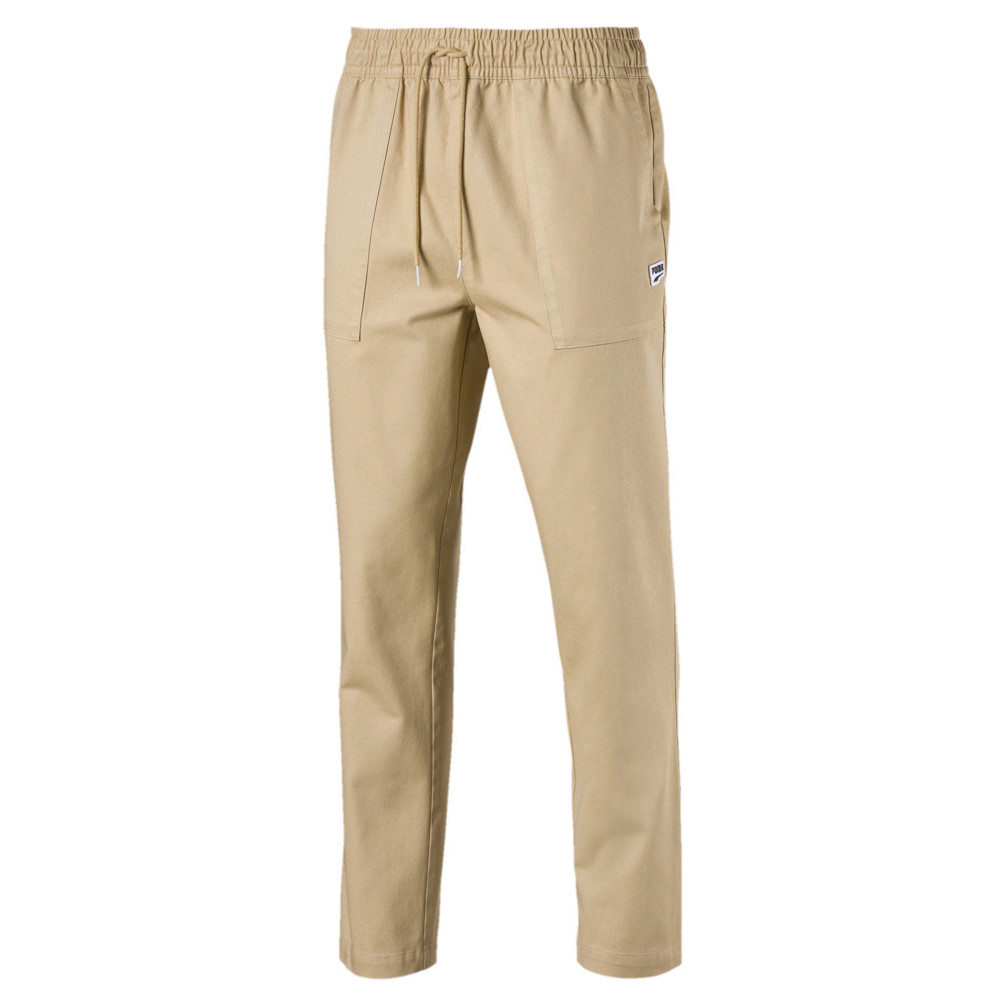 Image Puma Downtown Twill Knitted Men's Sweatpants #4