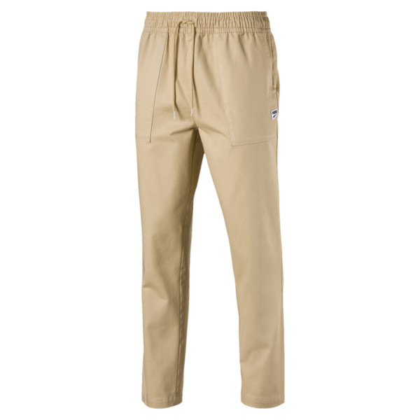 Downtown Men's Twill Pants, Taos Taupe, large