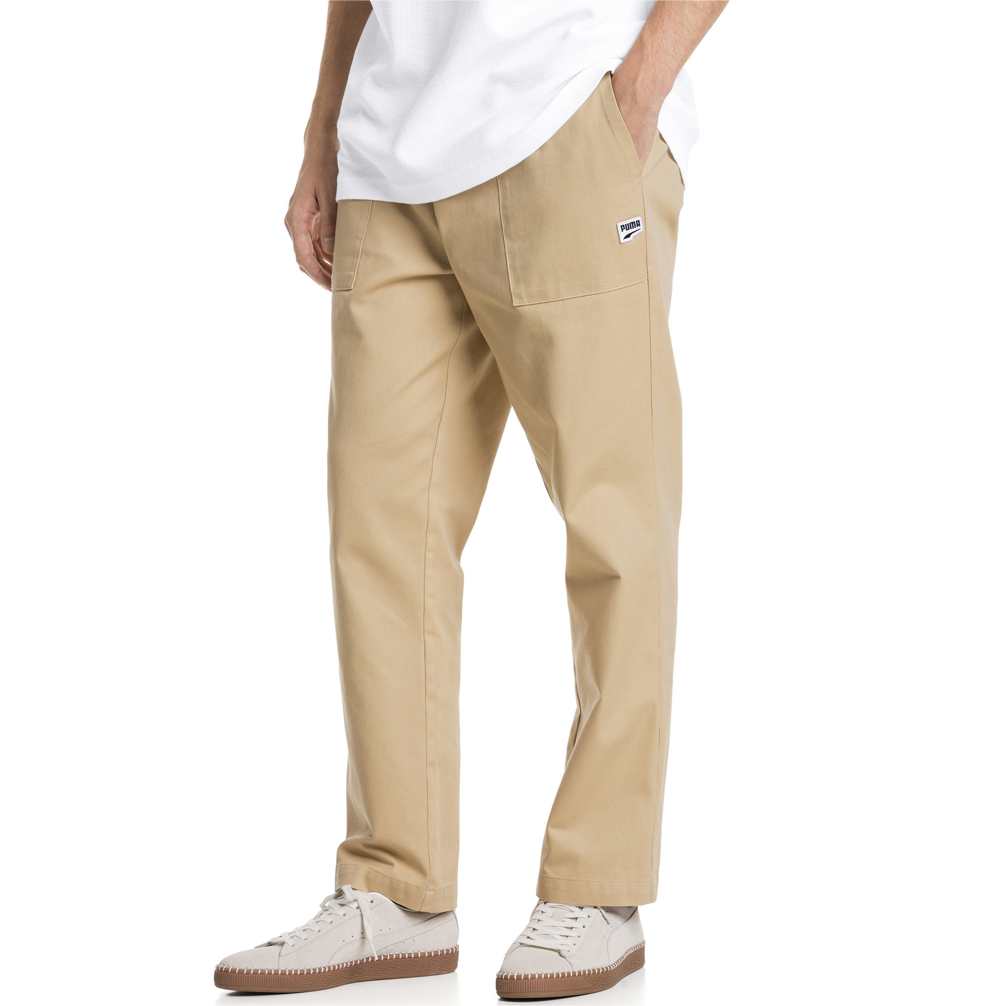 Image Puma Downtown Twill Knitted Men's Sweatpants #1
