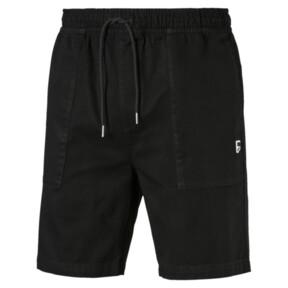Thumbnail 4 of Downtown Men's Shorts, Cotton Black, medium