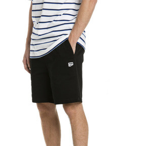 Thumbnail 1 of Downtown Herren Sweatshorts, Cotton Black, medium