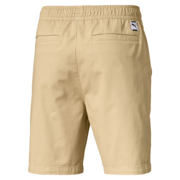 "Downtown 8"" Men's Sweat Shorts, Taos Taupe, large"