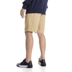 "Thumbnail 3 of Downtown 8"" Men's Sweat Shorts, Taos Taupe, medium"
