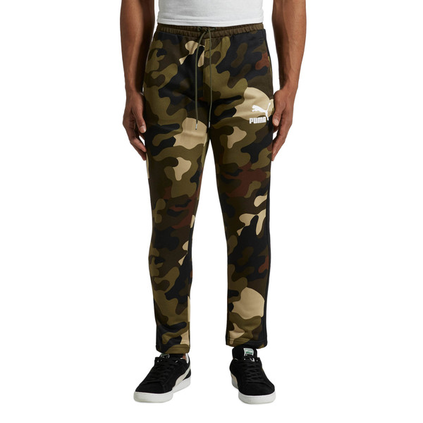 Wild Pack T7 Track Pants All Over Print, Forest Night, large