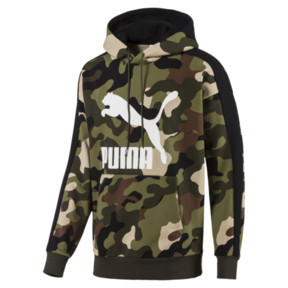 Thumbnail 1 of Wild Pack Hoodie AOP, Forest Night, medium