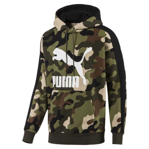 Wild Pack Hoodie AOP, Forest Night, large