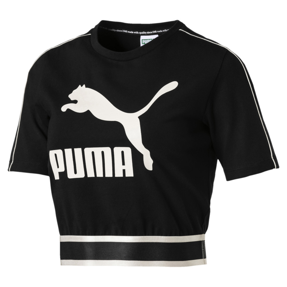 Image Puma Revolt Women's Cropped Tee #1