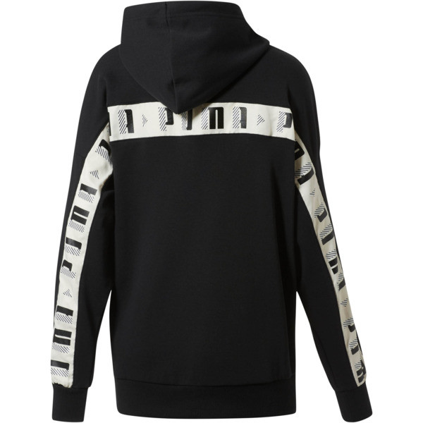 Revolt Hooded Sweat TR, Cotton Black, large