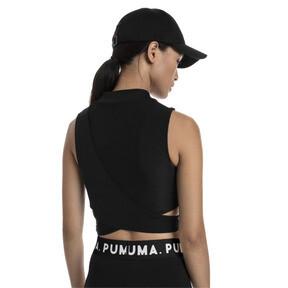 Thumbnail 2 of Chase Women's Crossover Top, Puma Black, medium