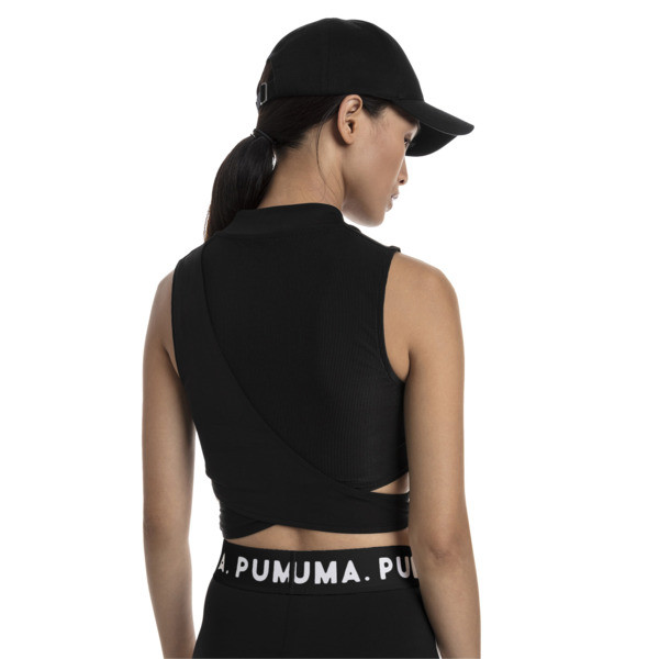 Chase Women's Crossover Top, Puma Black, large