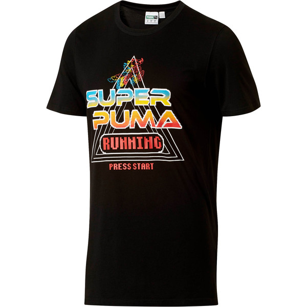 2b7d4e493df SUPER PUMA Play Men's Tee | Cotton Black | PUMA Shoes | PUMA United ...
