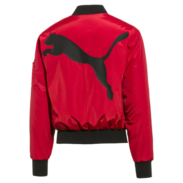 PUMA x THE KOOPLES Men's Bomber Jacket, High Risk Red, large