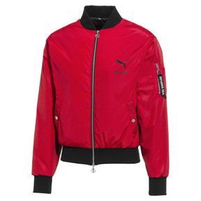 Thumbnail 1 of PUMA x THE KOOPLES Padded Men's Bomber Jacket, High Risk Red, medium