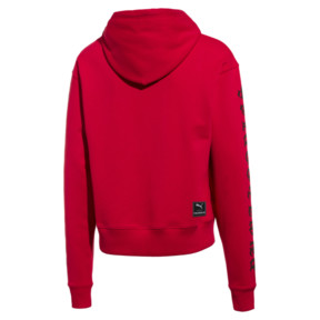 Miniaturka 2 Męska bluza z kapturem PUMA x THE KOOPLES, High Risk Red, średnie