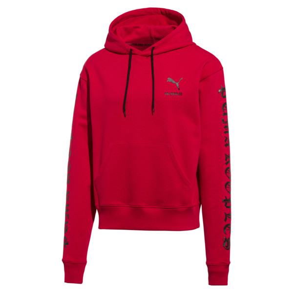 PUMA x THE KOOPLES Men's Hoodie, High Risk Red, large