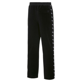 Thumbnail 2 of PUMA x THE KOOPLES Men's Velour Track Pants, Puma Black, medium