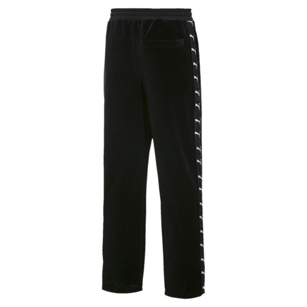 PUMA x THE KOOPLES Men's Velour Track Pants, Puma Black, large