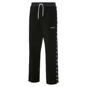 Thumbnail 1 of PUMA x THE KOOPLES Men's Velour Track Pants, Puma Black, medium