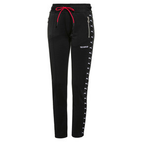 Thumbnail 1 of PUMA x THE KOOPLES Knitted Women's Track Pants, Puma Black, medium