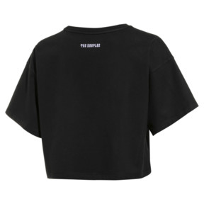 Thumbnail 2 of T-Shirt court PUMA x THE KOOPLES pour femme, Puma Black, medium