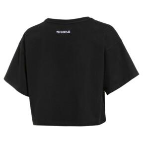 Thumbnail 2 of PUMA x THE KOOPLES ウィメンズ Tシャツ, Puma Black, medium-JPN