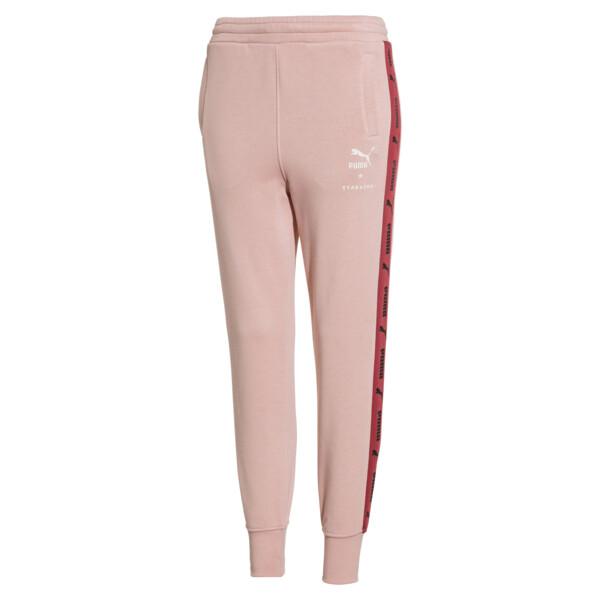 PUMA x TYAKASHA Women's Pants, Peach Beige, large