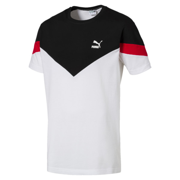 Iconic MCS Men's Tee, Puma White, large