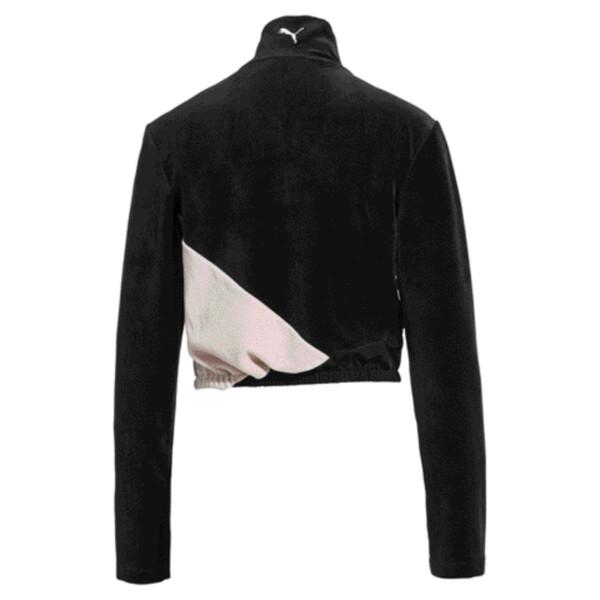 Rive Gauche Damen Trainingsjacke, Puma Black, large