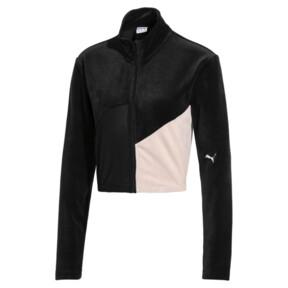 Thumbnail 1 of Rive Gauche Damen Trainingsjacke, Puma Black, medium