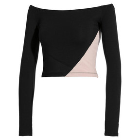 Thumbnail 1 of Top sans épaule Rive Gauche pour femme, Puma Black, medium