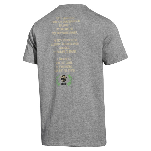 PUMA x Power Through Peace 307 T-Shirt, 01, large