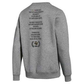 Thumbnail 2 of PUMA x Power Through Peace Crew, Medium Gray Heather, medium