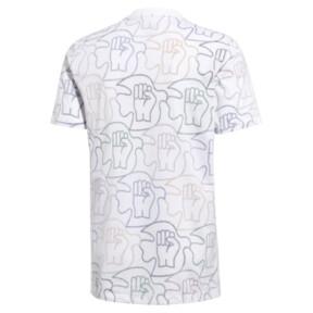 Thumbnail 2 of PUMA x Power Through Peace All Over Print T-Shirt, 01, medium