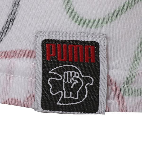 PWR THRU PEACE AOP TEE, Puma White, large-JPN