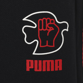 Thumbnail 3 of PWR THRU PEACE T7 PANT, Puma Black, medium-JPN