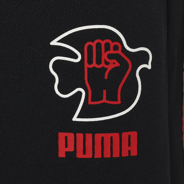 PWR THRU PEACE T7 PANT, Puma Black, large-JPN