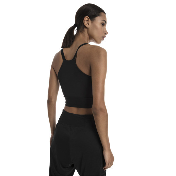 Trailblazer Women's Cropped Top, Puma Black, large