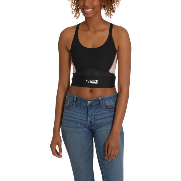 Trailblazer Women's Crop Top, Puma Black, large