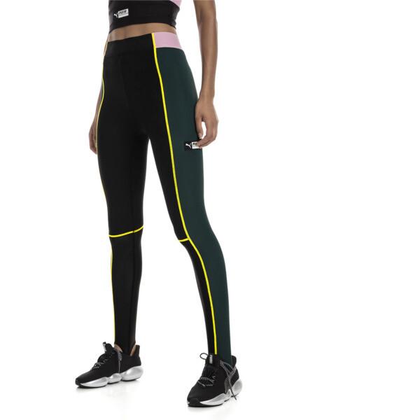 Collant TZ Highwaist avec patte pour Femme, Vert, Taille L | PUMA