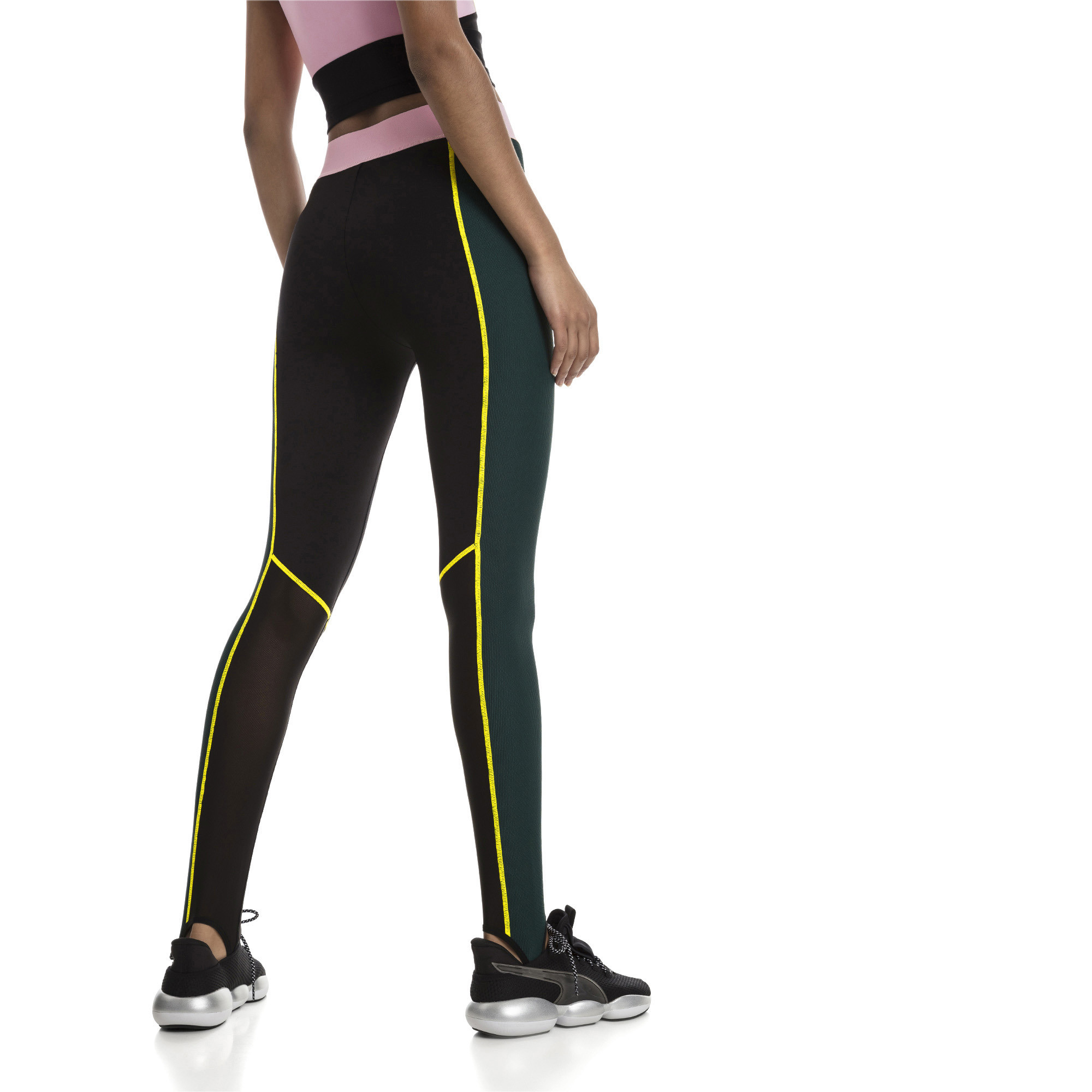Calzas con cintura alta y estribos TZ para mujer