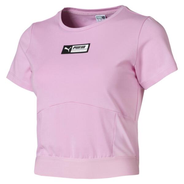 T-Shirt TZ pour Femme, Rose, Taille L | PUMA