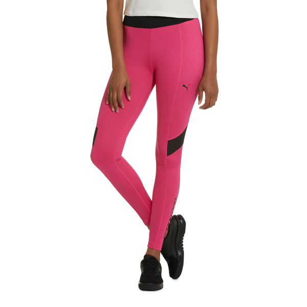 Trailblazer Women's Leggings, Fuchsia Purple, large