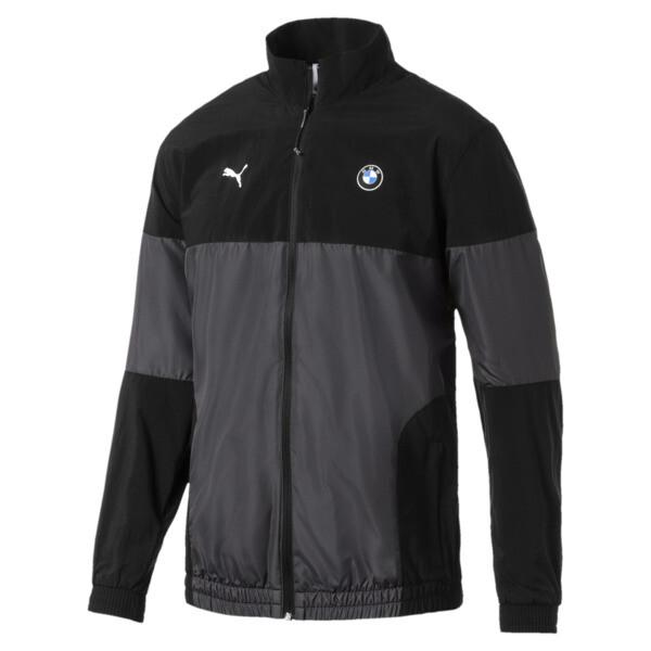 BMW MMS Men's Woven Jacket, Puma Black, large