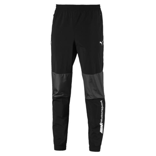BMW MMS Men's Woven Pants, Puma Black, large