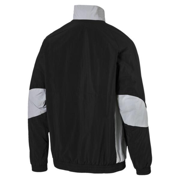 MERCEDES AMG PETRONAS Men's Woven Jacket, Puma Black, large