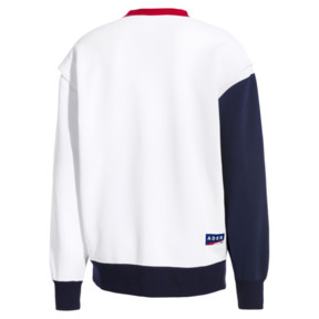 Thumbnail 4 of PUMA x ADER ERROR Crewneck Sweatshirt, Puma White, medium