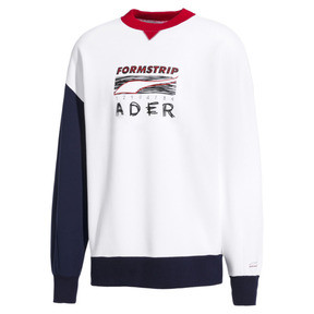 Thumbnail 1 of PUMA x ADER ERROR Crewneck Sweatshirt, Puma White, medium