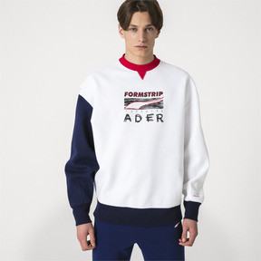 Thumbnail 2 of PUMA x ADER ERROR Crewneck Sweatshirt, Puma White, medium