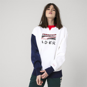 Thumbnail 6 of PUMA x ADER ERROR Crewneck Sweatshirt, Puma White, medium